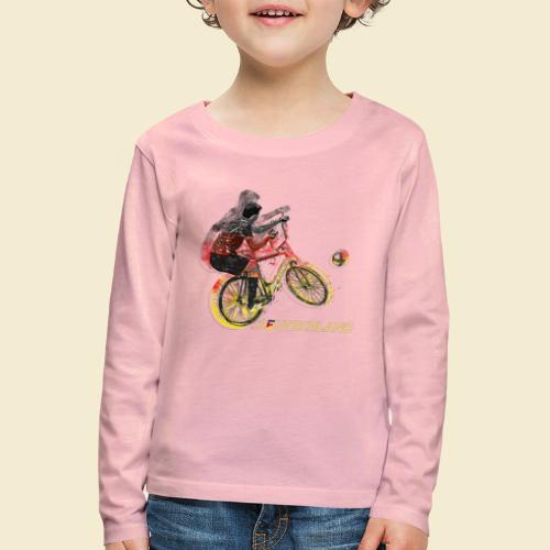Radball | Deutschland - Kinder Premium Langarmshirt