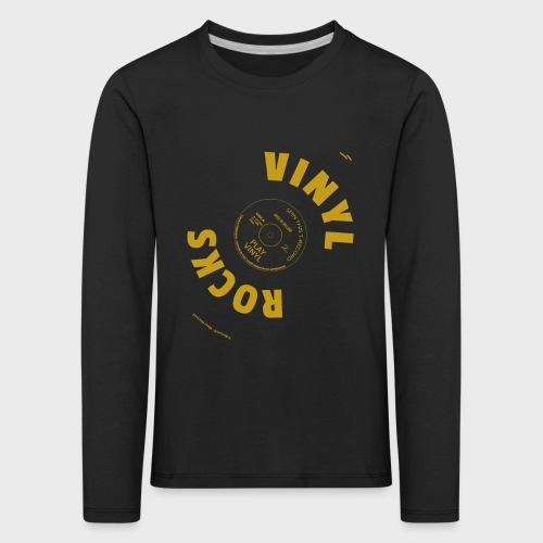T-Record - Vinyl Rocks! - Kinderen Premium shirt met lange mouwen