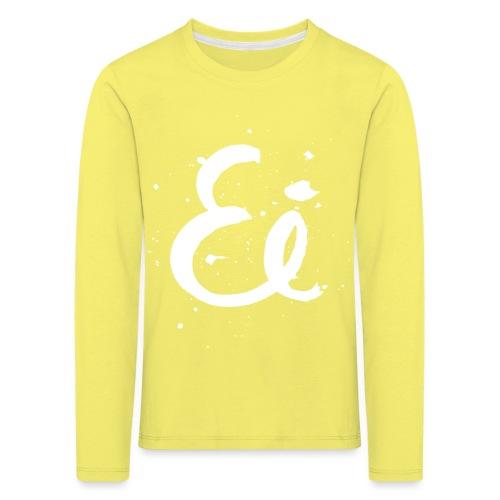 Ei kauno - Lasten premium pitkähihainen t-paita