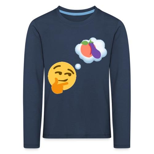 Johtaja98 Emoji - Lasten premium pitkähihainen t-paita