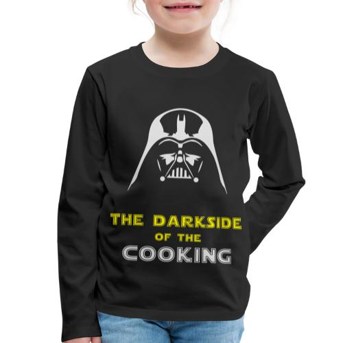 The darkside of the cooking - T-shirt manches longues Premium Enfant