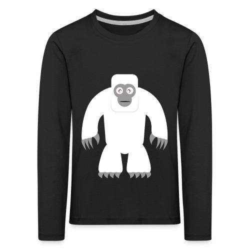 Yeti - Kinder Premium Langarmshirt