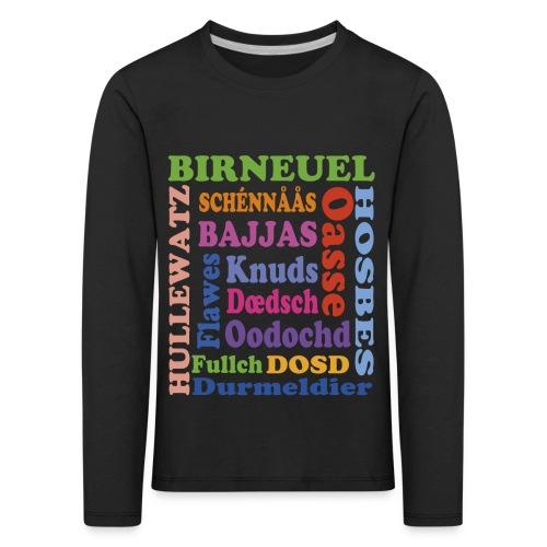 schimpf - Kinder Premium Langarmshirt