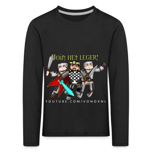 Join Het Leger! - Kinderen Premium shirt met lange mouwen