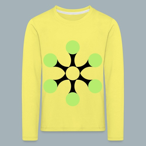 Star Bio T-shirt - Kinderen Premium shirt met lange mouwen
