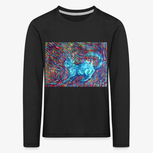 Kotek - Koszulka dziecięca Premium z długim rękawem