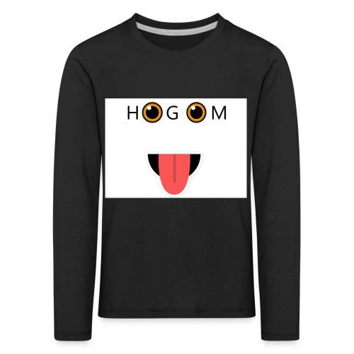 HetGameMisterie Logo - Kinderen Premium shirt met lange mouwen