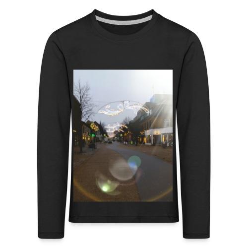 20180112 025558 - Børne premium T-shirt med lange ærmer