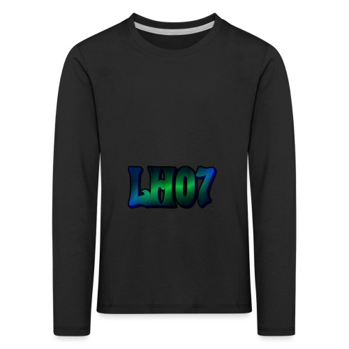 LH07 - Långärmad premium-T-shirt barn