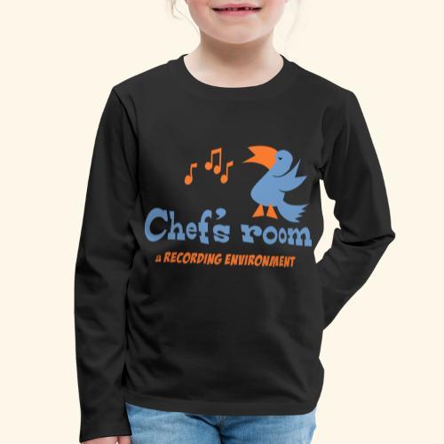 chefs room - Lasten premium pitkähihainen t-paita