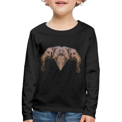 Elephants - T-shirt manches longues Premium Enfant