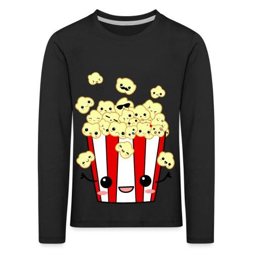 PopCorn - Camiseta de manga larga premium niño