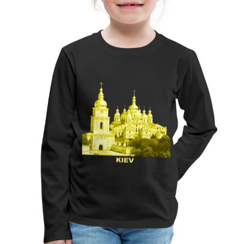 Kiev Kiew Ukraine Sophienkathedrale Kirche - Kinder Premium Langarmshirt
