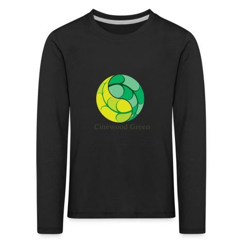 Cinewood Green - Kids' Premium Longsleeve Shirt