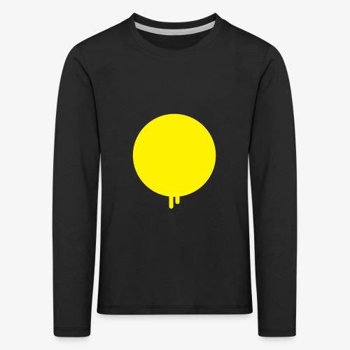 Smeltende zon met druppels - Kinderen Premium shirt met lange mouwen