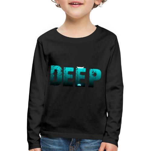 Deep In the Night - Maglietta Premium a manica lunga per bambini
