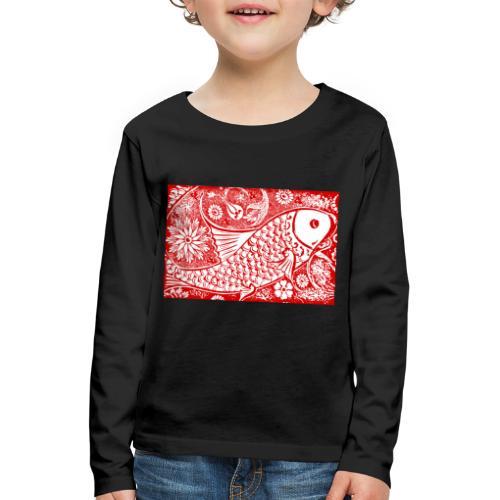 Fish in the sea - Kinderen Premium shirt met lange mouwen