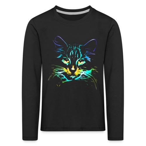 Vorschau: color kitty - Kinder Premium Langarmshirt