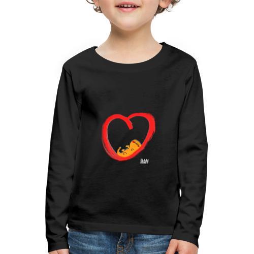 LYD 0003 04 KittyLove - Kinder Premium Langarmshirt