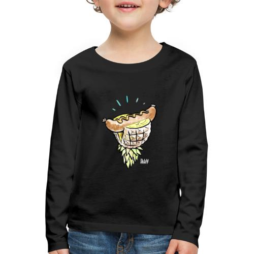 Stef 0005 00 tropical bratwurst - Kinder Premium Langarmshirt