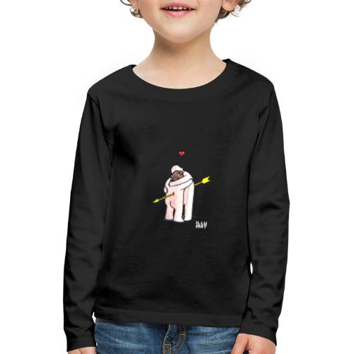 Stef 0001 00 Love - Kinder Premium Langarmshirt