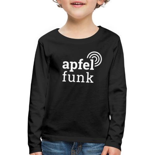 Apfelfunk Dark Edition - Kinder Premium Langarmshirt