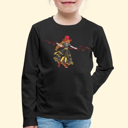 Ladybird - La célèbre uchronaute - T-shirt manches longues Premium Enfant