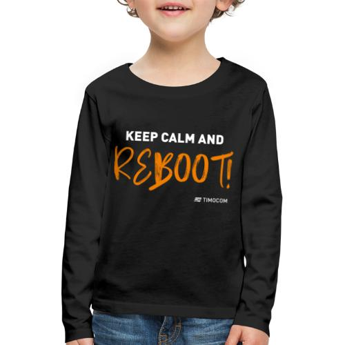 Reboot - Børne premium T-shirt med lange ærmer