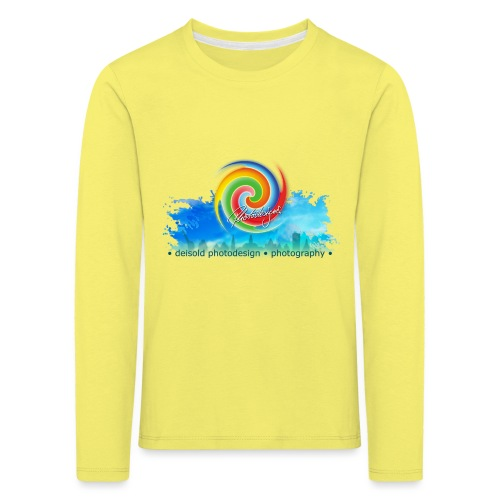 deisold photodesign photography Lüneburg - Kinder Premium Langarmshirt