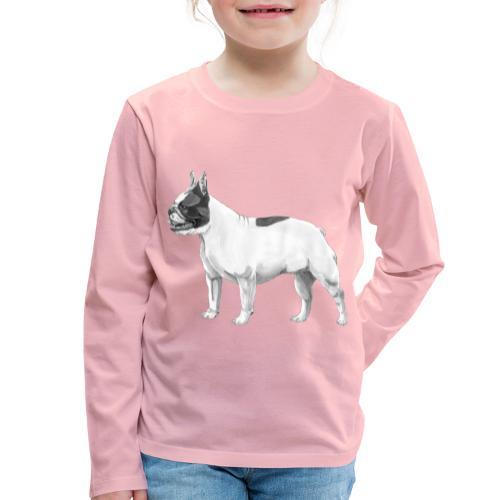 French Bulldog - Børne premium T-shirt med lange ærmer