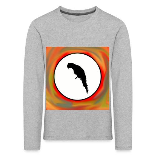 Papagei - Kinder Premium Langarmshirt
