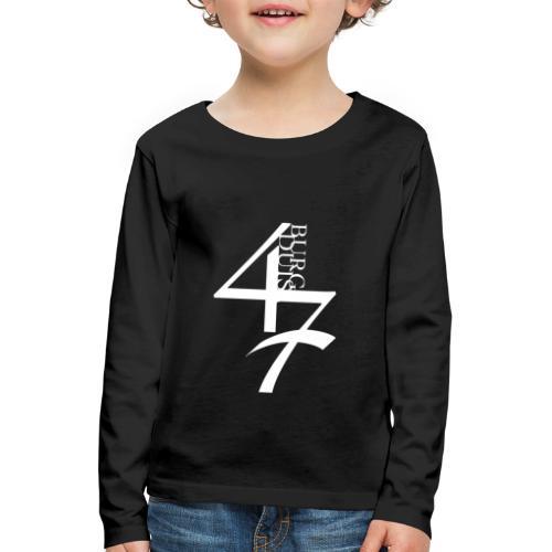 Duisburg 47 - Kinder Premium Langarmshirt