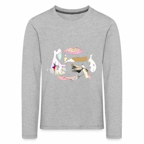 Pintular - Camiseta de manga larga premium niño
