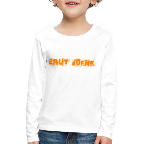 Brut Joenk - Kinderen Premium shirt met lange mouwen