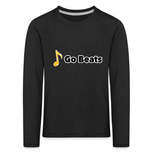 Logo with text - Kids' Premium Longsleeve Shirt