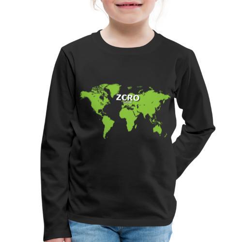 World Z€RO official - Kids' Premium Longsleeve Shirt