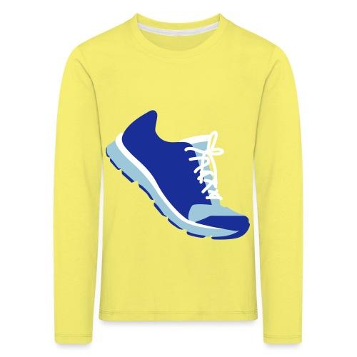 Laufschuh - Kinder Premium Langarmshirt
