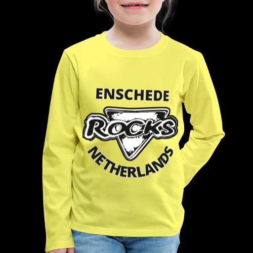 Rocks Enschede NL B-WB - Kinderen Premium shirt met lange mouwen