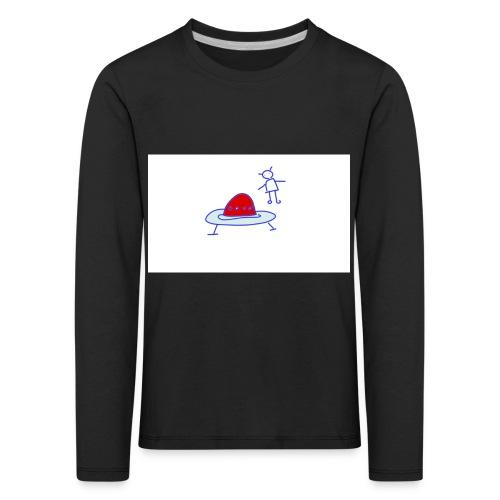 Project 3 - Camiseta de manga larga premium niño