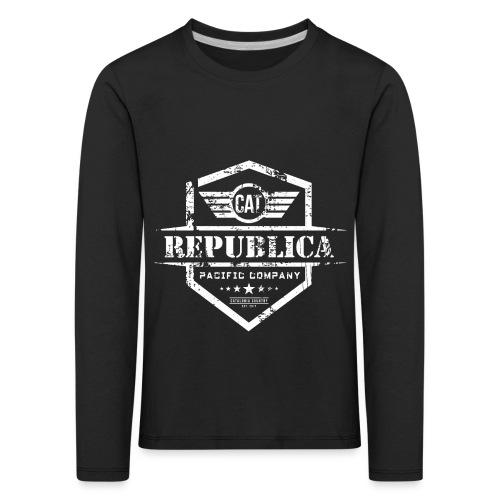 REPUBLICA CATALANA - Camiseta de manga larga premium niño
