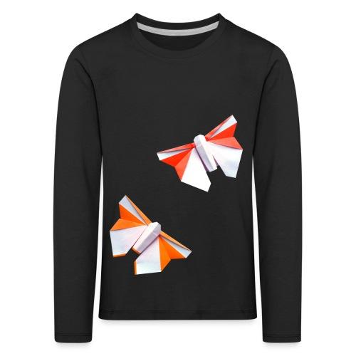 Butterflies Origami - Butterflies - Mariposas - Kids' Premium Longsleeve Shirt