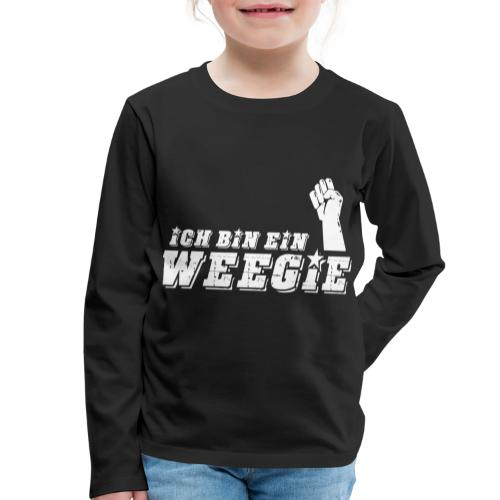 Ich Bin Ein Weegie - Kids' Premium Longsleeve Shirt