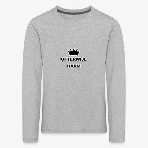 logo png - Kinderen Premium shirt met lange mouwen
