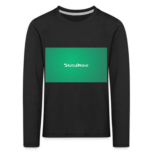backgrounder - Kinder Premium Langarmshirt