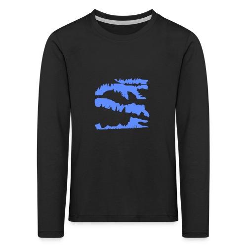 Blue_Sample.png - Kinder Premium Langarmshirt