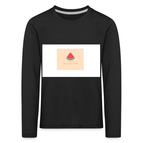 LOGO TPM - Kinderen Premium shirt met lange mouwen