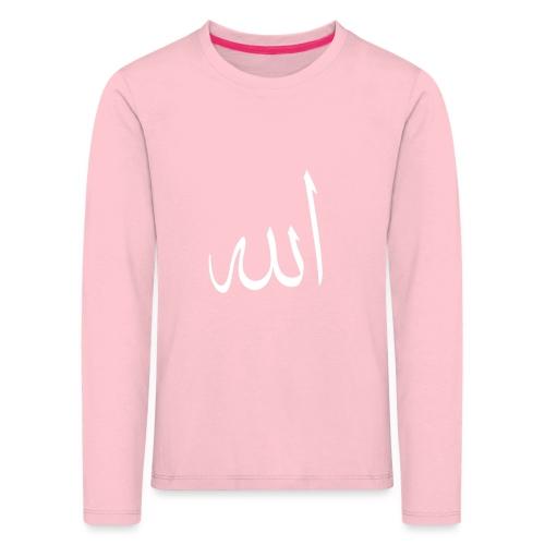 Allah - T-shirt manches longues Premium Enfant