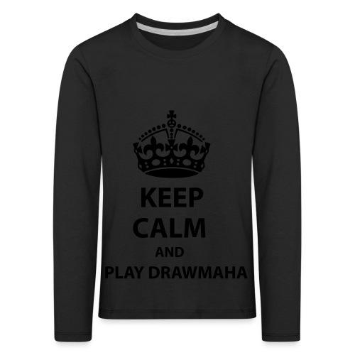 Play Drawmaha - Långärmad premium-T-shirt barn