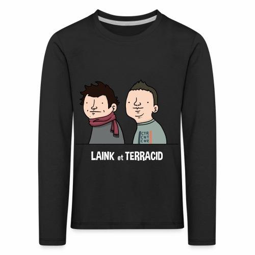Laink et Terracid old - T-shirt manches longues Premium Enfant