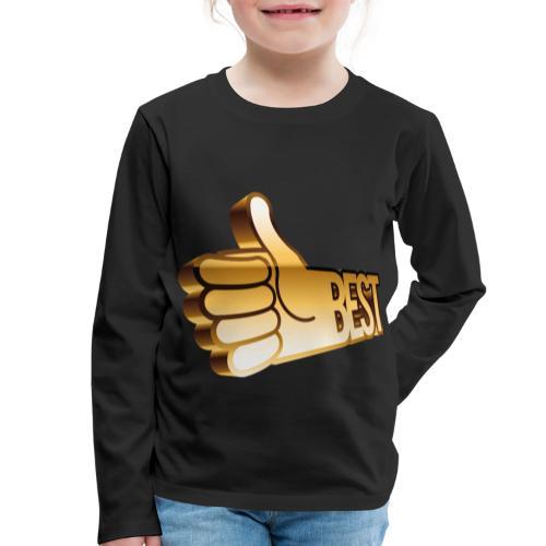 Best - Långärmad premium-T-shirt barn